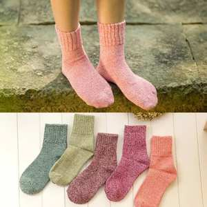 Women Socks Seamless Warm Winter Wool No 1-Pair Terry-Boots Cashmere Floor Thicken Female