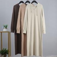 Теплое трикотажное платье с капюшоном Цена 1621 руб. ($20.66) | 118 заказов Посмотреть
