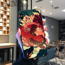 Japanese Art Pattern Painting Pattern TPU Soft Phone Case For iPhone 8 7 6 6S Plus X XS MAX 5 5S SE XR 11 11pro promax Mobile superheroes art pattern custom photo soft phone case for iphone 8 7 6 6s plus x xs max 5 5s se xr 11 11pro promax mobile cover