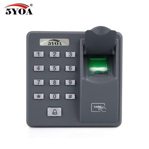 Image 5 - BX6FY Biometric Fingerprint Access Control Machine Digital Electric RFID Reader Scanner Sensor Code System For Door Lock