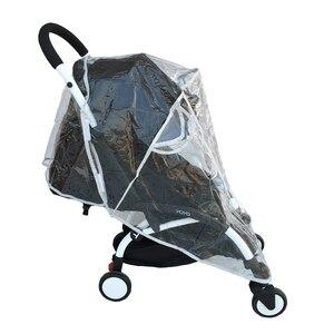 Image 4 - Yoyo impermeable accesorios de cochecito de bebé cubierta de lluvia cubierta impermeable para Babyzen Yoyo Yoya Babytime Babysing de seguridad Material EVA