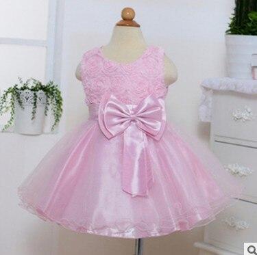 LOOZYKIT; красивое платье принцессы для девочек; Вечерние Платья с цветочным узором для девочек; детское платье для причастия; платье-пачка; детская одежда - Цвет: pink