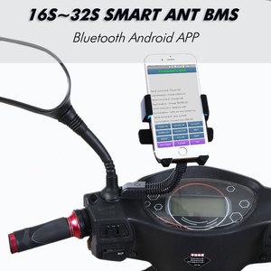 Image 2 - 16S à 32S smart ant bms nouveau bricolage Lifepo4 li ion 50A/80A/100A/110A/120A smart bms pcm avec moniteur dapplication Bluetooth android