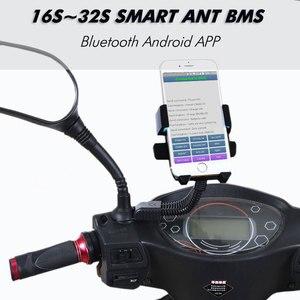 Image 2 - 16S Đến 32S Thông Minh Kiến Bms New DIY Lifepo4 Li ion 50A/80A/100A/110A/120A Thông Minh Bms Pcm Với Android Bluetooth Ứng Dụng Màn Hình