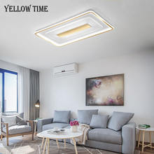 Золотая Современная светодиодный ная потолочная лампа комнатное