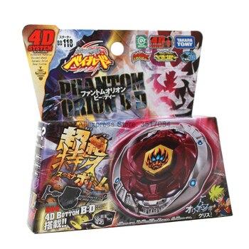 Original TAKARA TOMY JAPAN Anime Beyblade METAL FUSION BB118 Phantom Orion B D With Launcher Beyblade Metal Fusion original ehpro 2 in 1 fusion 150w tc kit max 150w w fusion mod