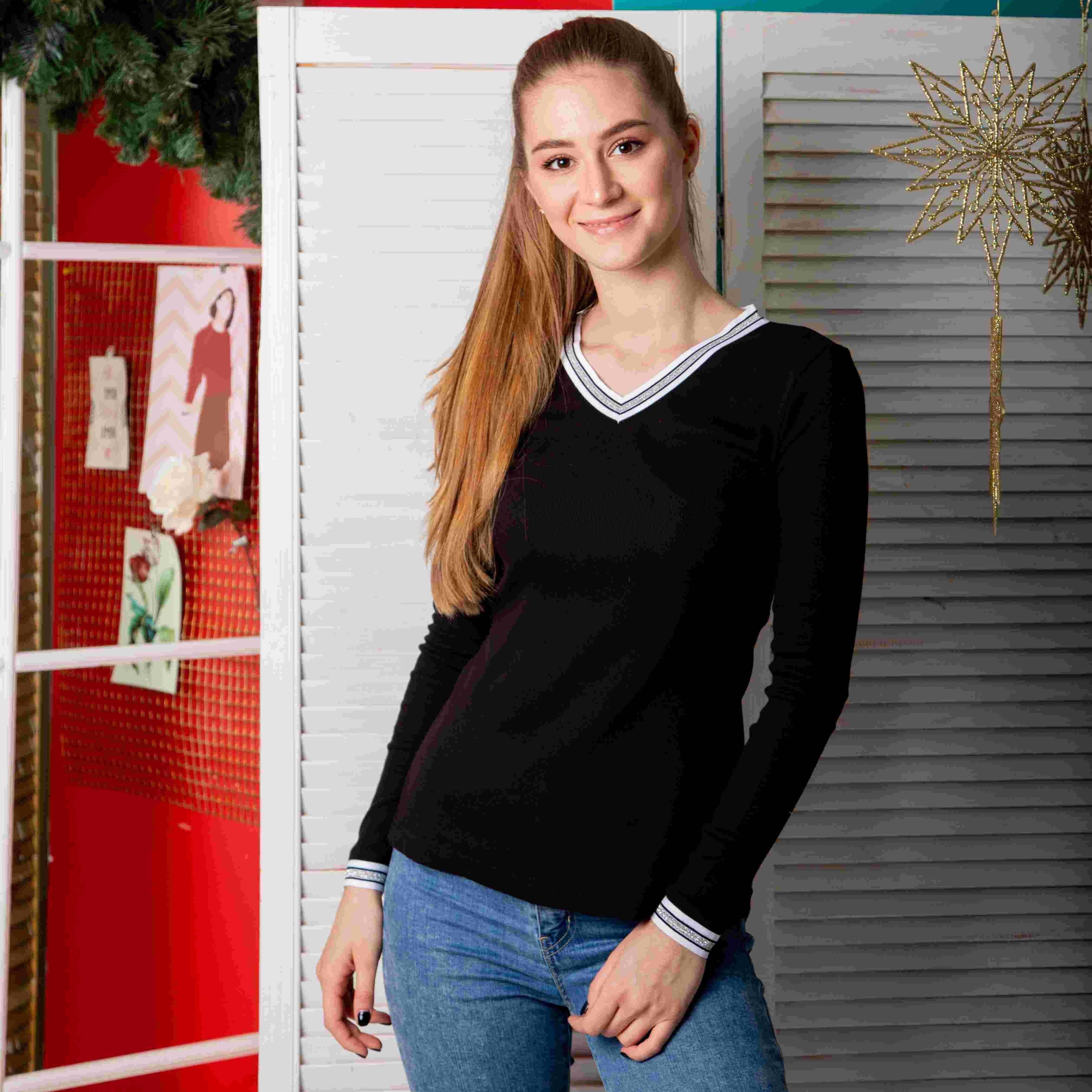 Atoff Home T-shirt F 260/1 (black)