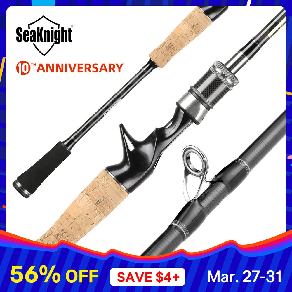 Seaknight Falcon 1.98M 2.1M 2.4M Hengel 2 Tips Ul/L/Ml/M/ mh Power 2 Secties Carbon Hengel Spinning Casting Hengel Visgerei title=