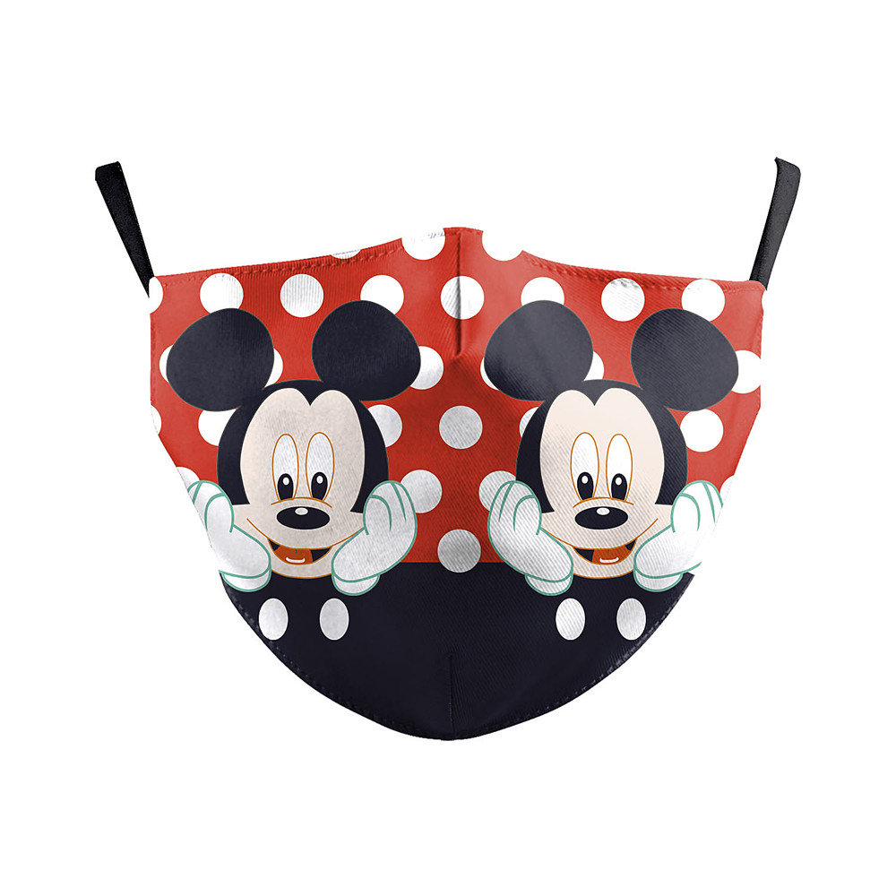Cartoon Mouth Muffle Adult Cute Mouse Print Washable Mask Reusable Dustproof Cover PM2.5 Filter Outddoor Mask