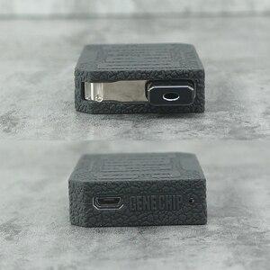 Защитный чехол для Voopoo DRAG NANO силиконовый чехол текстура кожи резиновый рукав щит обертывание подходит для voopoo drag nano