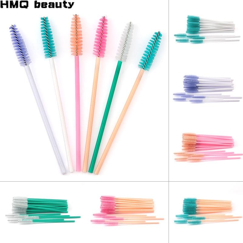 Eyelash Extension Disposable Eyelash Brush Mascara Stick Applicator Propeller Eye Lash Makeup Brush Set Makeup Tools