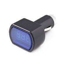 Портативный цифровой монитор Автомобильный вольтметр светодиодный