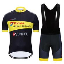 Cycling Kit Summer Team Direct Energy Quality Currency Set Cycling Jersey Set