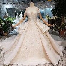HTL275 Sweetheart suknie ślubne z welon ślubny handmade kryształowe aplikacje suknia ślubna księżniczka 2020 new fashion design boda