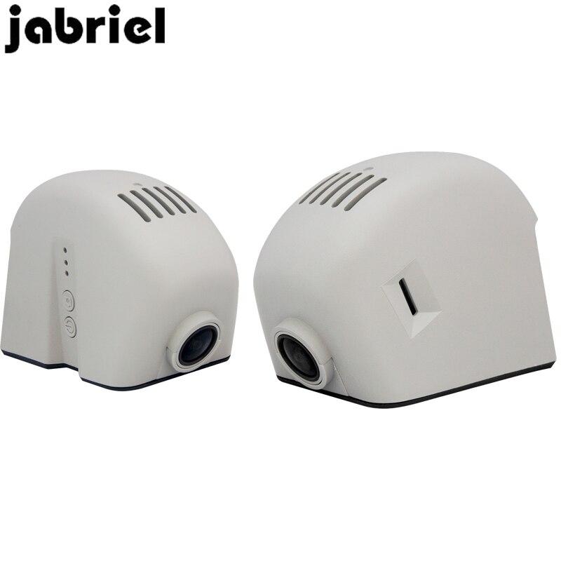 Jabriel Скрытая 1080P Автоматическая Автомобильная камера dash cam 24 часа в сутки Регистраторы сзади Камера для audi a3 8p 8v a4 b8 b6 b7 a6 c5 c6 c7 a5 a1 q5 q7