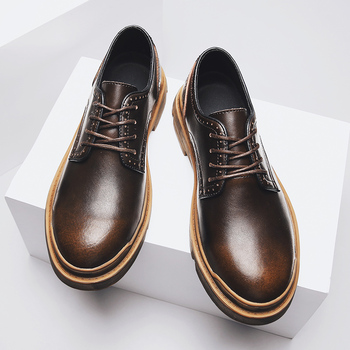 Brand Handmade Breathable Men's Oxford Shoes Top Quality Dress Shoes Men Flats Sneakers Fashion Men Genuine Leather Oxford Shoes stacy adams men s atwell oxford