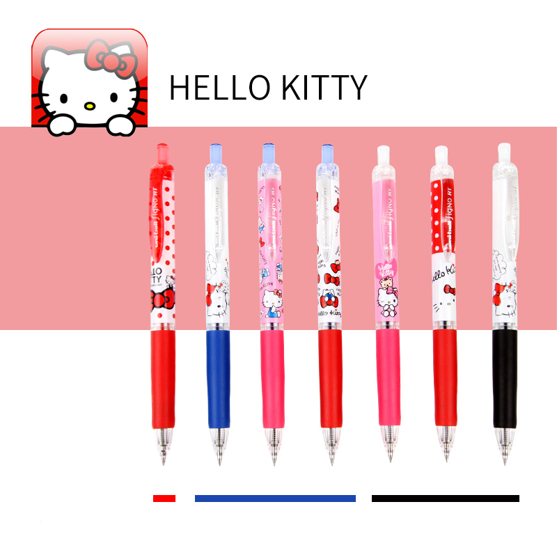 UNI Gel Pens UMN-158SR Cartoon Pattern  Limited Edition Hello Kitty Lovely Office And Student Supplies 0.38mm