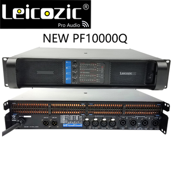 Leicozic 2500W 10000q 4 channel Power amplifier class td line array amplificador audio profesional stage amplifiers dj equipment