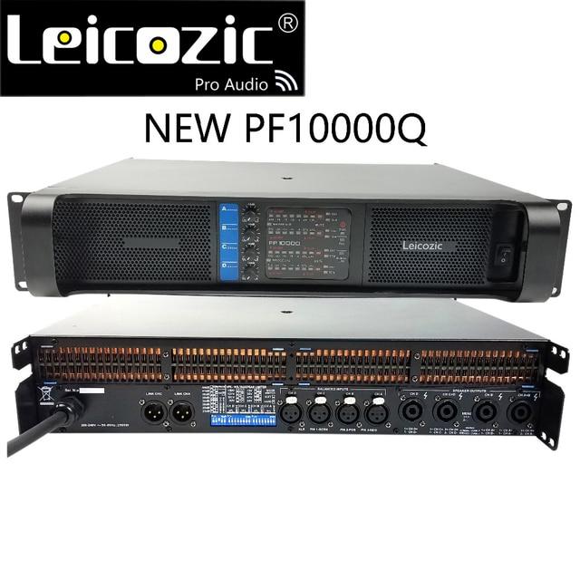 Leicozic 2500W 10000q 4 channel Power amplifier class td line array amplificador audio profesional stage amplifiers dj equipment