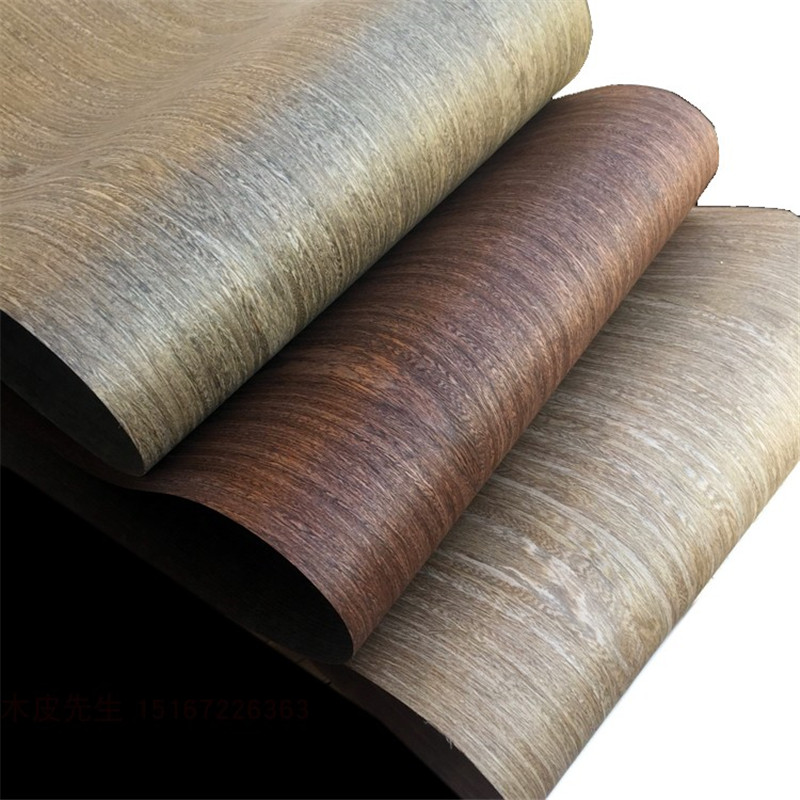 Technical Veneer Sliced Wood Engineering Veneer E.V. About 64cm X 2.5m Vintage Wenge Q/C