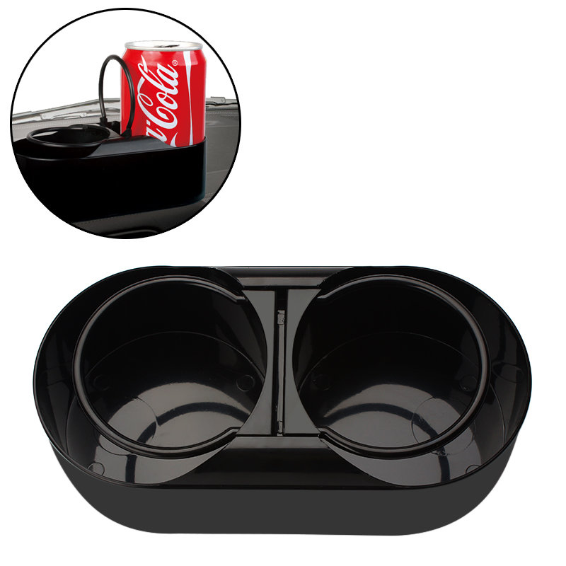 Water Beverage Holder New  Dual Hole Drink Bottle ABS Plastic Cup Holder Stand Auto Accessories Car Truck Mount Car Styling