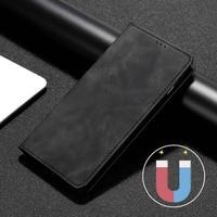 Luksusowa osłona dla UMIDIGI A11 A9 A3X A3S F2 F1 A5 A7 Pro A7S S2 S3 S5 Retro PU skóra magnetyczne etui Flip Wallet Case na umi X Power5