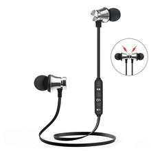 KUGE Bluetooth słuchawki sportowe magnetyczne V4 2 Stereo sportowe wodoodporne słuchawki douszne bezprzewodowe słuchawki douszne z mikrofonem dla iPhone samsung tanie tanio Inne Bezprzewodowy + Przewodowe Do Internetu Bar Monitor Słuchawkowe Do Gier Wideo Wspólna Słuchawkowe Dla Telefonu komórkowego
