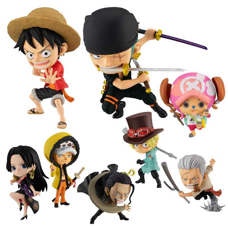 Bandai Gashapon Mini-Figure Mini-Figurine Manga ONE PIECE NICO ROBIN