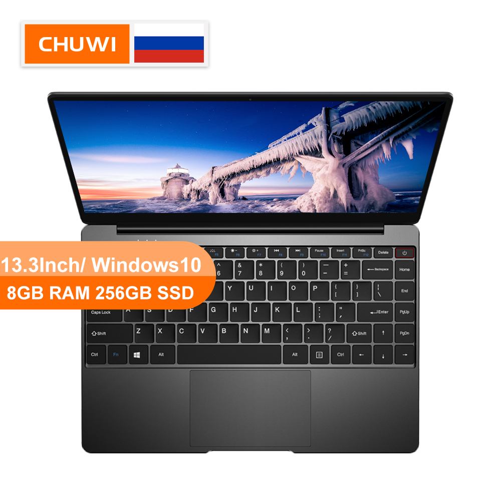 CHUWI Originl AeroBook Intel Core M3 6Y30 13.3Inch Windows10 Laptop 8GB RAM 256GB SSD With Backlit Keyboard Metal Cover Notebook