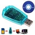 1 шт. Новый USB считыватель SIM-карт, устройство для записи/копирования/Cloner/резервного копирования, GSM, CDMA, WCDMA, устройство для чтения сотовых тел...