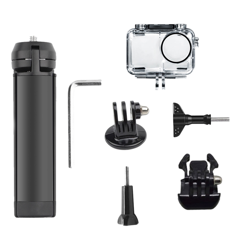 Small Metal Tripod + Waterproof Shell Package Suitable for Osmo Action image