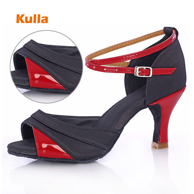 Women Latin Dance Shoes 5cm/7cm High Heels Salsa Tango Dance Shoes Professional Ballroom Dancing Shoes For Women Girls Wholesale