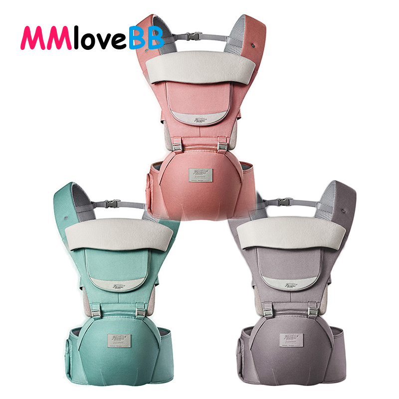 MMloveBB Ergonomic Baby Carrier Infant Baby Hipseat Waist Carrier Front Facing Ergonomic title=