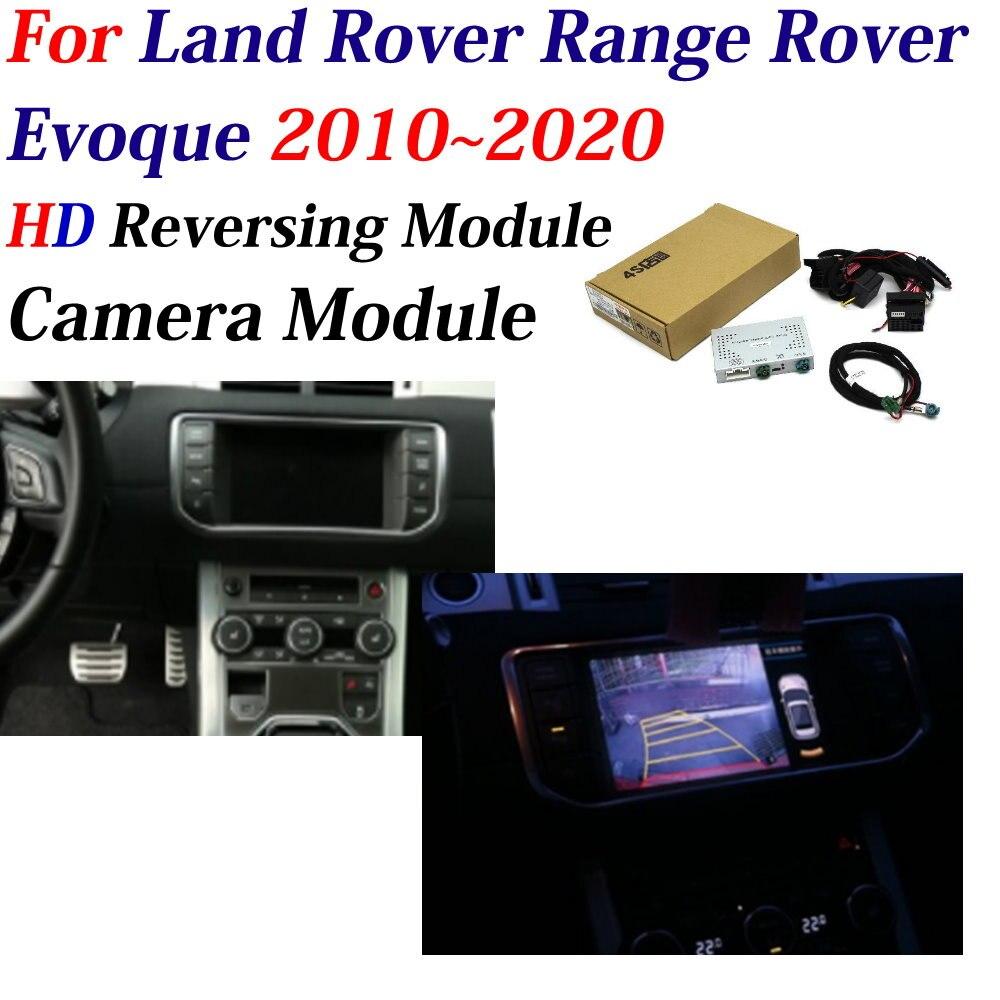 AUTO DVR CAM Decoder For Land Rover Range Rover/Evoque 2010-2020 Car Front Camera Adapter Original Monitor Parking Rear Camera