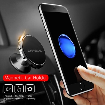 цена на Luxury Universal Magnetic Holder for Phone in Car Phone Holder Stand Aluminum Alloy Universal Car Mobile Phone Holder Stand