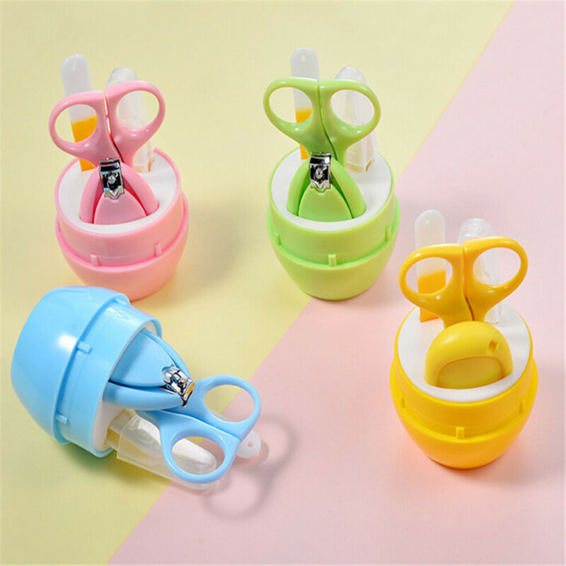 Baby Nail File Safe Baby Nail Clippers Baby Nail Trimmeror Toddler Toes Manicure Set Nail Cutter Baby Nail Clipper Baby Care