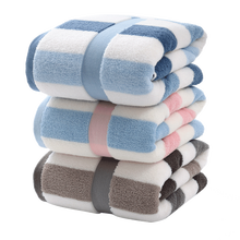 Cotton bath towels extra-large towels thickened adult male and female couples household water absorbent for quick drying(China)