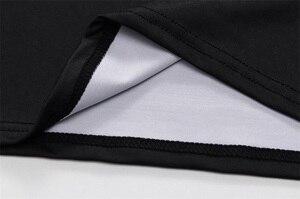 Image 4 - 2019 המעניש Mens T חולצה דחיסת חולצה 3D מודפס T חולצות גברים קרוע קצר שרוול כושר חולצות קודי LUNDIN