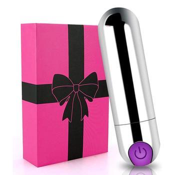 Portable Mini Vibtator Massager Sex Toys for Women Vagina Stimulator USB Rechargeable Waterproof Dildo G Spot Vibrators