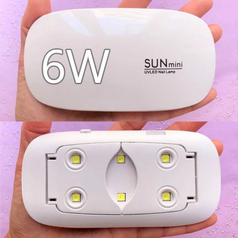 6w USB LED UV Lamp Portable Mini UV Lamp By SUNmini LED Ultraviolet Light UV Resin Tool Nail Dryer Resin Jewelry Making Supplies