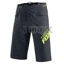 NEW TROY Fox Motorcycle Racing Moto Gray yellow Dirt Shorts MTB DH Downhill Bicycle Mountain Bike Summer Pants