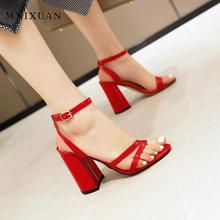 MNIXUAN Sexy super high heels women gladiator sandals