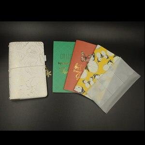 Image 4 - Cuaderno de viajero Lovedoki 2019 tamaño estándar estampado en caliente cubierta Personal planificador diario regalo papelería tienda útiles escolares
