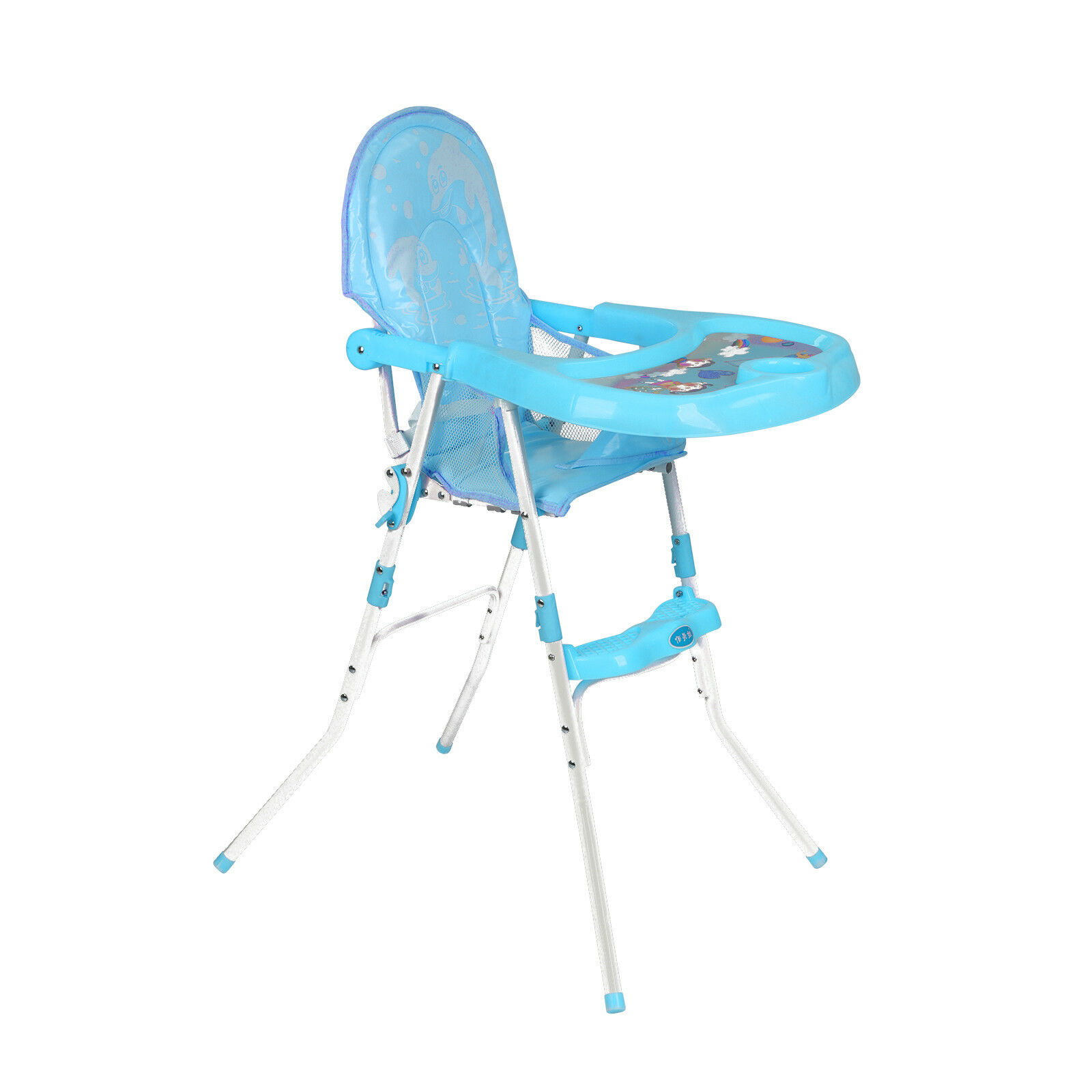 Suitable For Children From 6 Months To 3 Years Baby's High Chair Adjustable Distance Between Seat Tray For Comfort New