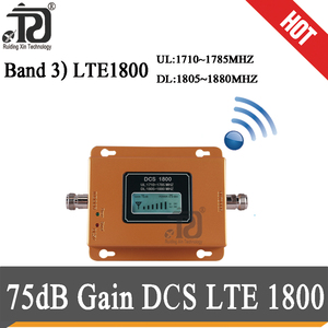 Image 2 - 75dB Gain 4G Signaal Booster 1800Mhz Signaal Repeater Gsm 4G Dcs LTE1800 Mobiele Signaal Booster 4G cellphone Cellulaire Versterker 4G