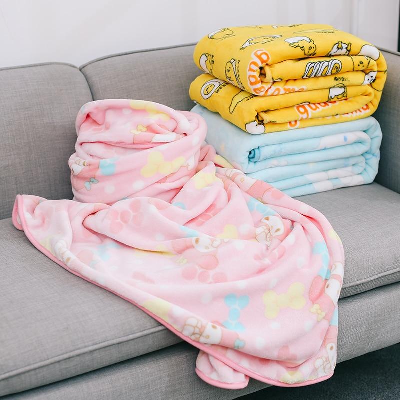 Kawaii Cinnamoroll/My Melody/Gudetama Blanket 1