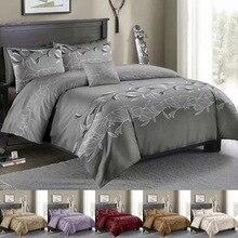 Duvet Cover & Pillow Shams Set 8 Size Single Double Full Queen King 6 Colors Comforter 240/220 200*200