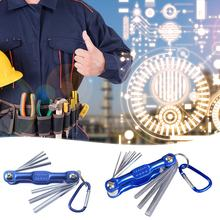 Inviolável Estrela Ameixa Ameixa Hexagonal Hex Chave Definida Metric Folding Hex Wrench(China)