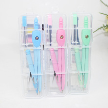 S9 Primary School STUDENT'S Aluminum Compasses Set Professional Drawing with Pencil Refill 8188 Cute Stationery Gift