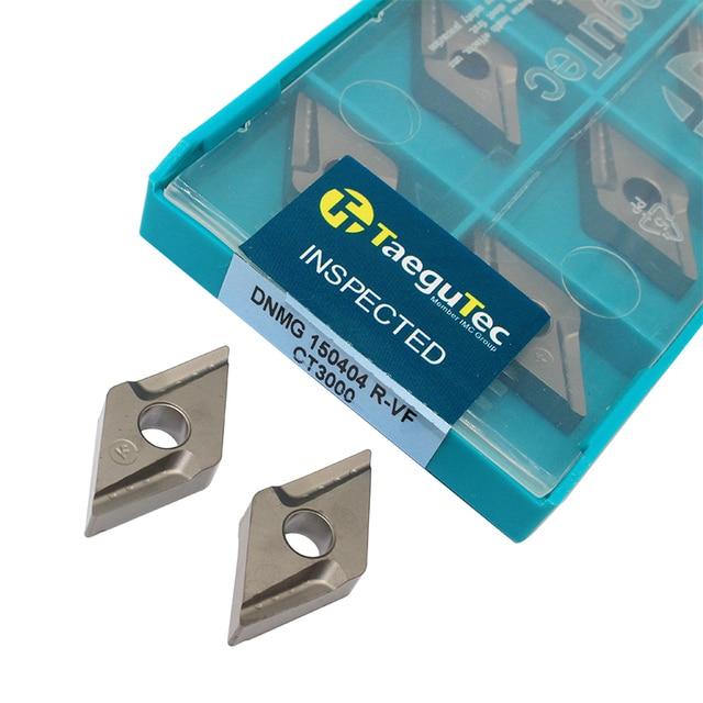 10 Pcs DNMG150404 R Vf CT3000 Externe Draaigereedschappen Cermet Grade Carbide Insert Draaibank Cutter Tool Tokarnyy Draaien Insert